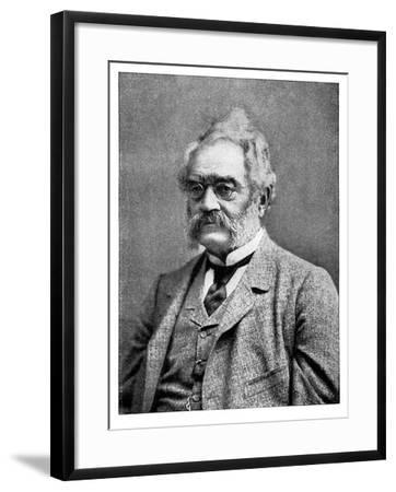Ernst Werner Von Siemens 19th Century German Inventor and Industrialist--Framed Giclee Print