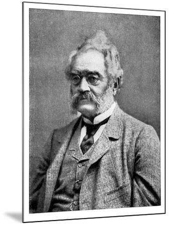 Ernst Werner Von Siemens 19th Century German Inventor and Industrialist--Mounted Giclee Print