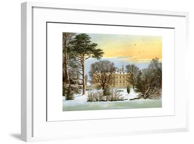 Warter Priory, Near Pocklington, Yorkshire, Home of the Wilson Family, C1880-Benjamin Fawcett-Framed Giclee Print