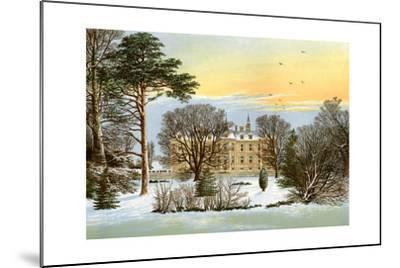 Warter Priory, Near Pocklington, Yorkshire, Home of the Wilson Family, C1880-Benjamin Fawcett-Mounted Giclee Print