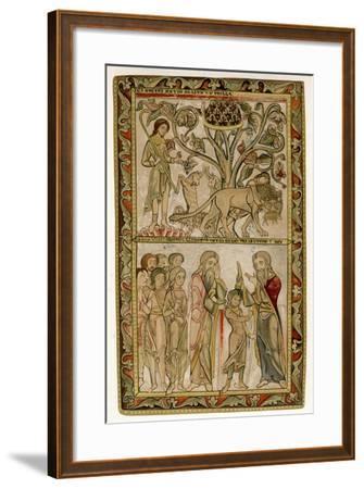 David and Samuel, 1121-1161--Framed Giclee Print