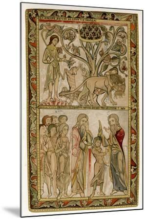 David and Samuel, 1121-1161--Mounted Giclee Print