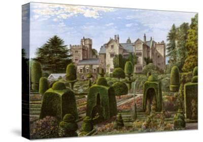 Levens Hall, Cumbria, C1880-AF Lydon-Stretched Canvas Print