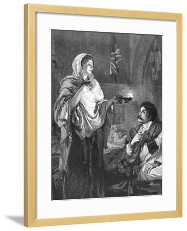 The Lady with the Lamp, C1880--Framed Giclee Print