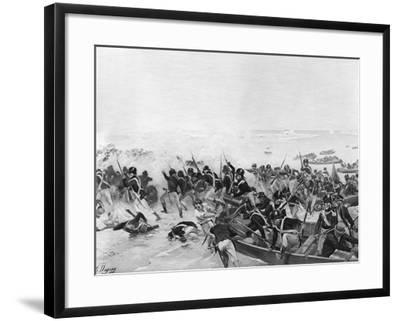 The Battle of Aboukir, Egypt, 1801-Henri-Louis Dupray-Framed Giclee Print