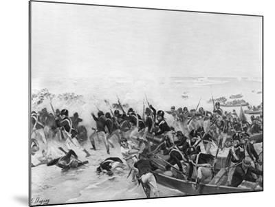 The Battle of Aboukir, Egypt, 1801-Henri-Louis Dupray-Mounted Giclee Print