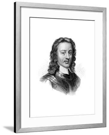 John Hampden, 17th Century English Politician and Soldier--Framed Giclee Print