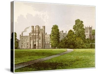 Coughton Court, Warwickshire, Home of Baronet Throckmorton, C1880-AF Lydon-Stretched Canvas Print