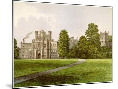 Coughton Court, Warwickshire, Home of Baronet Throckmorton, C1880-AF Lydon-Mounted Giclee Print