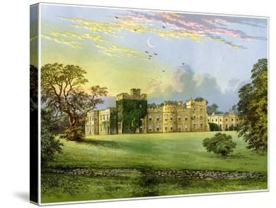 Hornby Castle, Yorkshire, Home of the Duke of Leeds, C1880-AF Lydon-Stretched Canvas Print