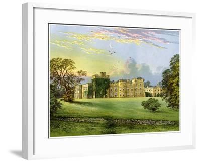 Hornby Castle, Yorkshire, Home of the Duke of Leeds, C1880-AF Lydon-Framed Giclee Print