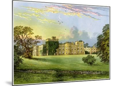 Hornby Castle, Yorkshire, Home of the Duke of Leeds, C1880-AF Lydon-Mounted Giclee Print
