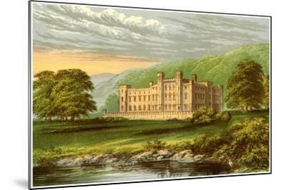 Scone Palace, Perthshire, Scotland, Home of the Earl of Mansfield, C1880-Benjamin Fawcett-Mounted Giclee Print