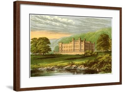 Scone Palace, Perthshire, Scotland, Home of the Earl of Mansfield, C1880-Benjamin Fawcett-Framed Giclee Print