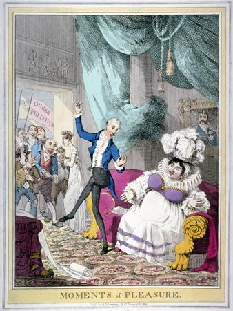 Moments of Pleasure, 1820-Theodore Lane-Framed Giclee Print