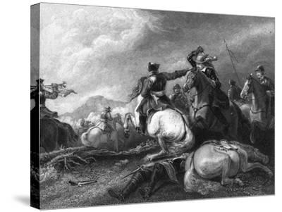 Cromwell at the Battle of Marston Moor, 2 July 1644-William Greatbach-Stretched Canvas Print