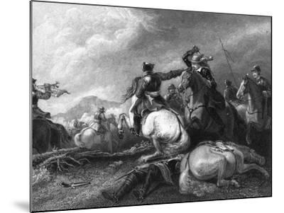 Cromwell at the Battle of Marston Moor, 2 July 1644-William Greatbach-Mounted Giclee Print