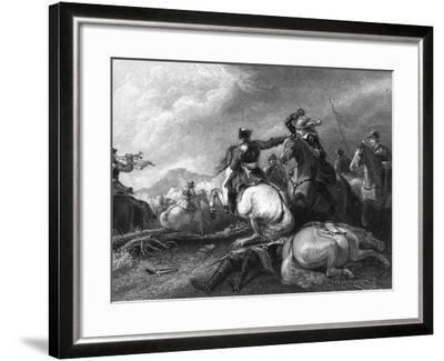 Cromwell at the Battle of Marston Moor, 2 July 1644-William Greatbach-Framed Giclee Print