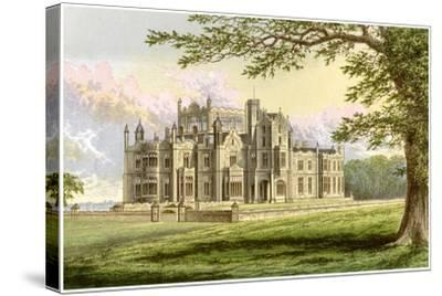 Stourton, Yorkshire, Home of Lord Stourton, C1880-AF Lydon-Stretched Canvas Print