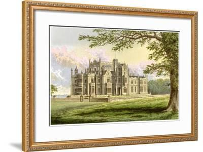 Stourton, Yorkshire, Home of Lord Stourton, C1880-AF Lydon-Framed Giclee Print