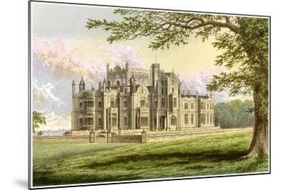 Stourton, Yorkshire, Home of Lord Stourton, C1880-AF Lydon-Mounted Giclee Print
