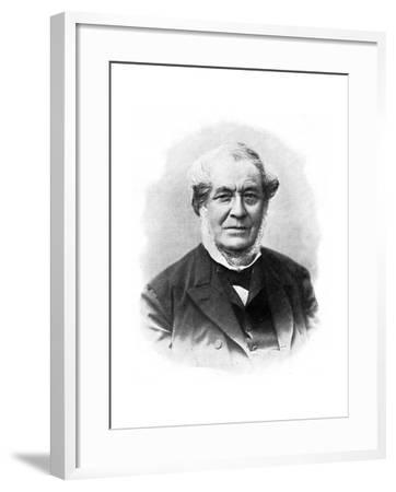 Robert Wilhelm Bunsen, 19th Century German Chemist--Framed Giclee Print