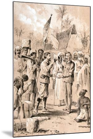 Dr Livingstone, I Presume?, November 1871--Mounted Giclee Print