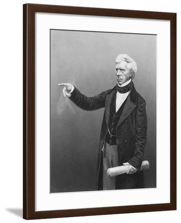 Henry Peter Brougham, 1st Baron Brougham and Vaux, Scottish Lawyer and Politician, C1861--Framed Giclee Print