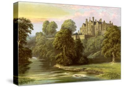 Lilburn Tower, Northumberland, Home of the Collingwood Family, C1880-AF Lydon-Stretched Canvas Print