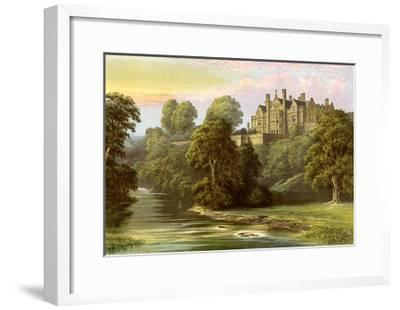 Lilburn Tower, Northumberland, Home of the Collingwood Family, C1880-AF Lydon-Framed Giclee Print