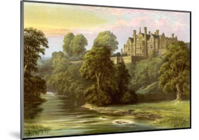 Lilburn Tower, Northumberland, Home of the Collingwood Family, C1880-AF Lydon-Mounted Giclee Print