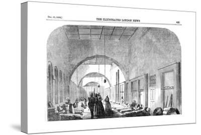 The Barrack Hospital at Scutari During the Crimean War, 1854--Stretched Canvas Print