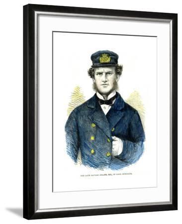 Captain Josling, of HMS 'Euryalus, 1863--Framed Giclee Print