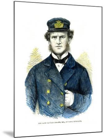 Captain Josling, of HMS 'Euryalus, 1863--Mounted Giclee Print