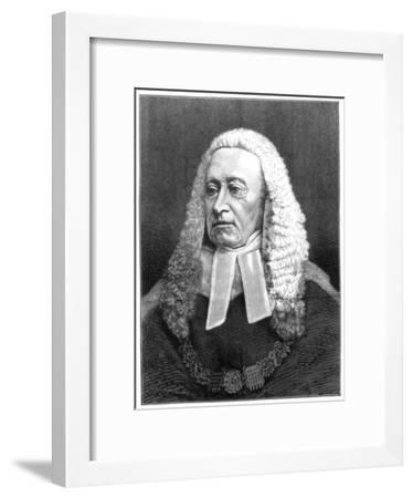 Sir Alexander Cockburn, 12th Baronet, Lord Chief Justice of England, 1875--Framed Giclee Print