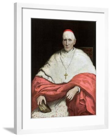 His Eminence Cardinal Manning, 1889-Walter William Ouless-Framed Giclee Print