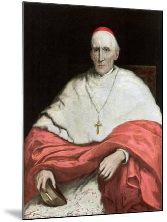 His Eminence Cardinal Manning, 1889-Walter William Ouless-Mounted Giclee Print