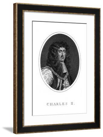 Charles II, King of England, Scotland and Ireland--Framed Giclee Print