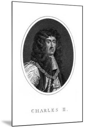 Charles II, King of England, Scotland and Ireland--Mounted Giclee Print