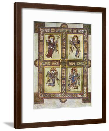 The Evangelical Symbols, 800 Ad--Framed Giclee Print