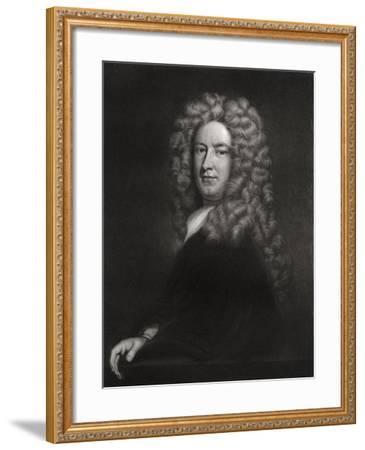 Sir Samuel Garth, English Physician and Poet C1705-1710-Godfrey Kneller-Framed Giclee Print