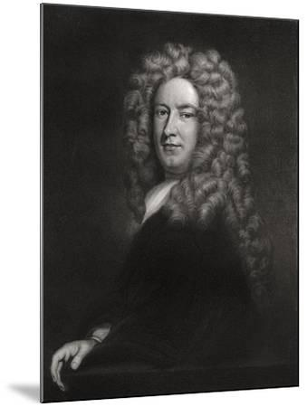 Sir Samuel Garth, English Physician and Poet C1705-1710-Godfrey Kneller-Mounted Giclee Print