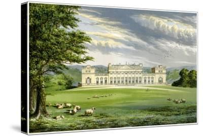 Harewood House, Yorkshire, Home of the Earl of Harewood, C1880-AF Lydon-Stretched Canvas Print