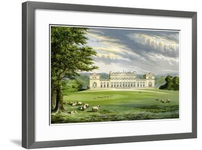 Harewood House, Yorkshire, Home of the Earl of Harewood, C1880-AF Lydon-Framed Giclee Print