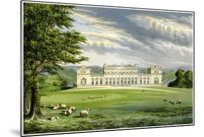 Harewood House, Yorkshire, Home of the Earl of Harewood, C1880-AF Lydon-Mounted Giclee Print