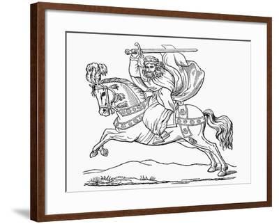 St James the Apostle, Patron Saint of Spain--Framed Giclee Print