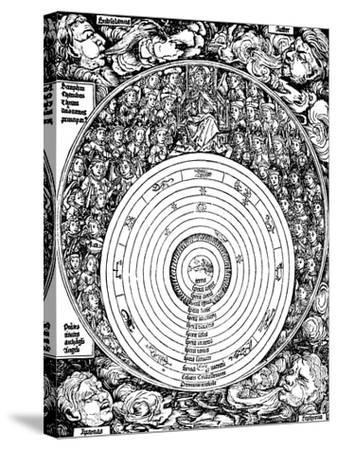 Geocentric Universe, 1493--Stretched Canvas Print