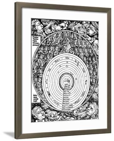 Geocentric Universe, 1493--Framed Giclee Print