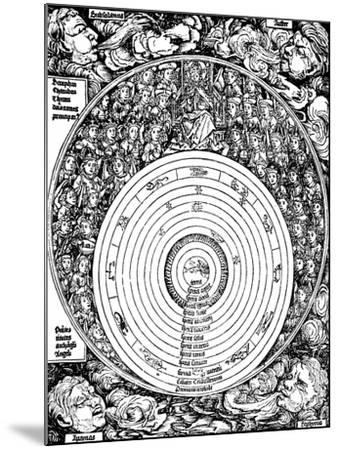 Geocentric Universe, 1493--Mounted Giclee Print