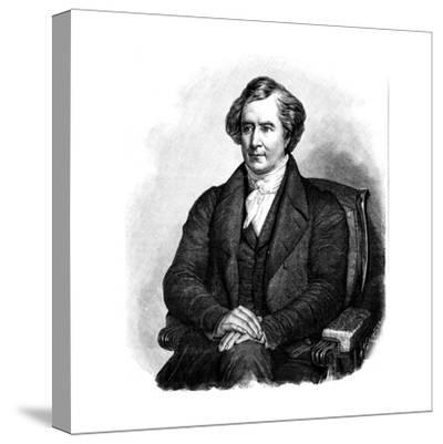 Dominique Francois Jean Arago (1786-185), French Astronomer, Physicist and Politician-Ary Scheffer-Stretched Canvas Print